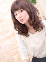 岐阜の美容室Clipperループの女性モデル