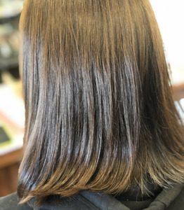艶のある女性の髪